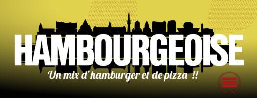 Pizza Hambourgeoise